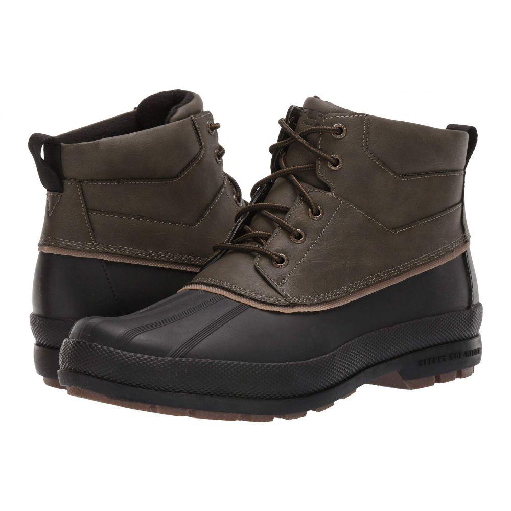 スペリー Sperry メンズ ブーツ チャッカブーツ シューズ・靴【Cold Bay Chukka】Olive/Black