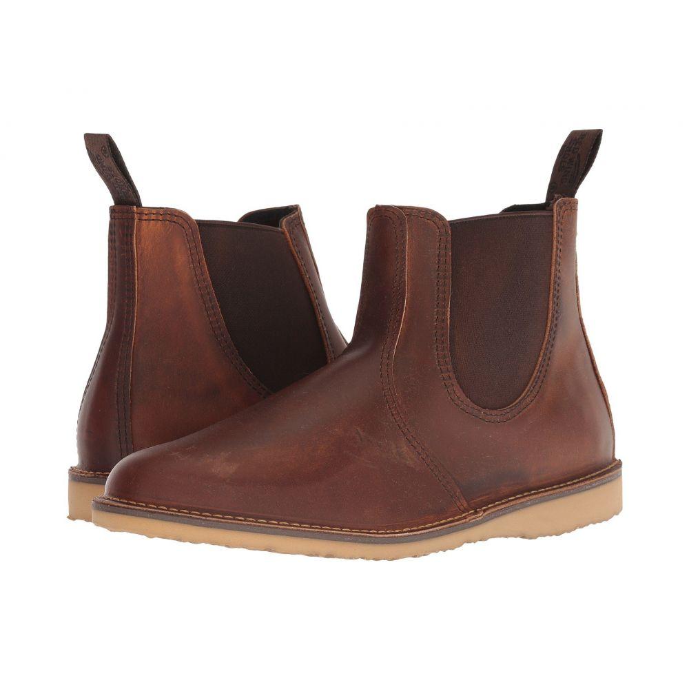 レッドウィング Red Wing Heritage メンズ ブーツ シューズ・靴【Weekender Chelsea】Copper Rough/Tough Leather