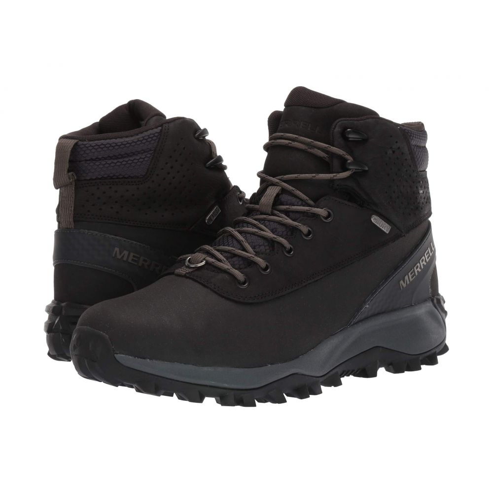 メレル Merrell メンズ ブーツ シューズ・靴【Thermo Kiruna Mid Shell Waterproof】Black