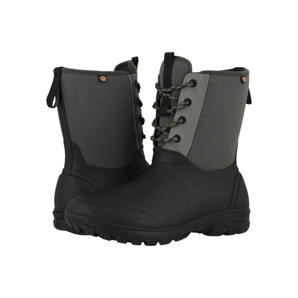 ボグス Bogs メンズ ブーツ シューズ・靴【Sauvie Snow】Gray Multi
