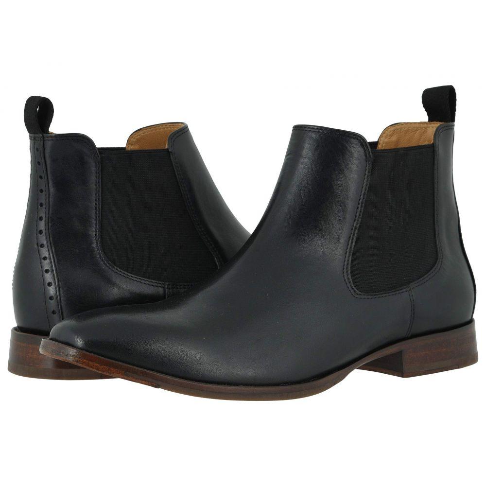 ジョンストン&マーフィー Johnston & Murphy メンズ ブーツ チェルシーブーツ シューズ・靴【McClain Chelsea Boot】Black Full Grain
