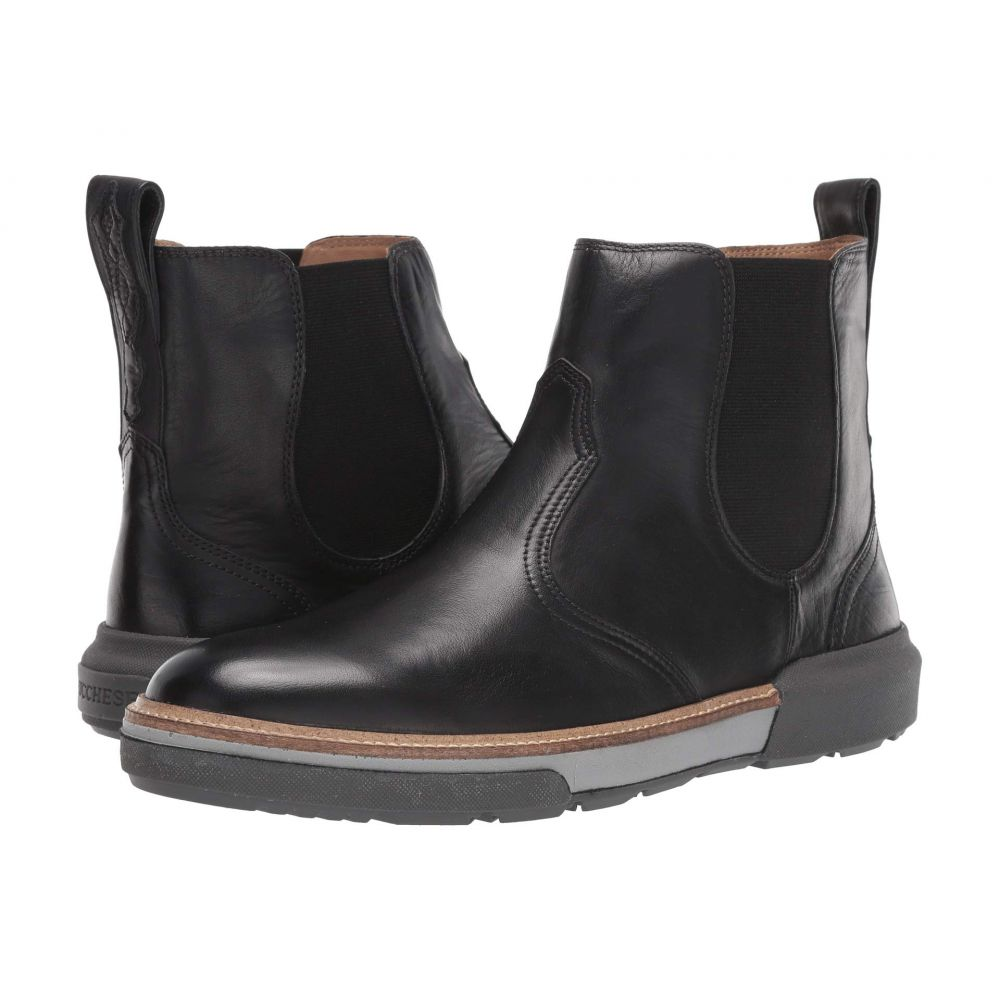 ルケーシー Lucchese メンズ ブーツ チェルシーブーツ シューズ・靴【After-Ride Chelsea Boot】Black Florence Buffalo Calf