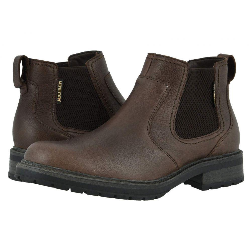 メフィスト Mephisto メンズ ブーツ シューズ・靴【Lopez】Dark Brown Nevada
