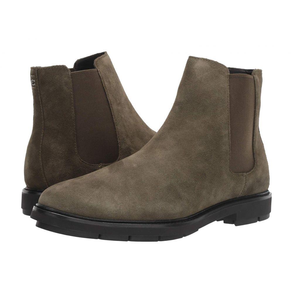 コーチ COACH メンズ ブーツ チェルシーブーツ シューズ・靴【Suede Chelsea Boot】Olive