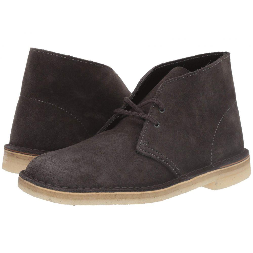 クラークス Clarks メンズ ブーツ シューズ・靴【Desert Boot】Slate Grey Suede