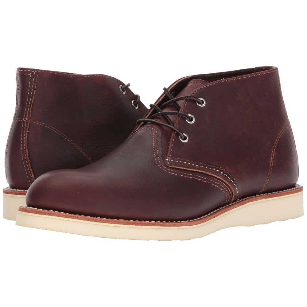 レッドウィング Red Wing Heritage メンズ ブーツ チャッカブーツ シューズ・靴【Work Chukka】Briar Oil Slick