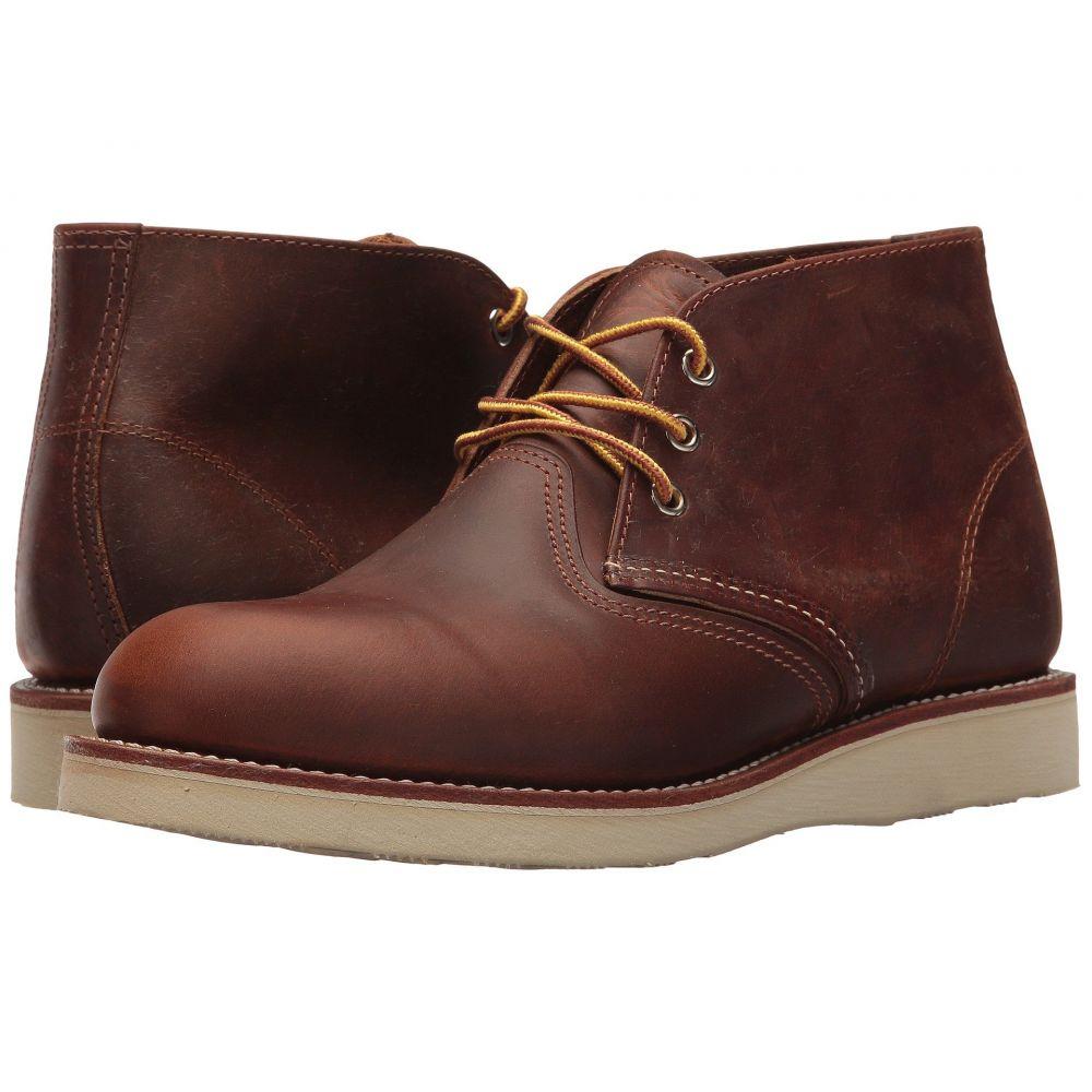 レッドウィング Red Wing Heritage メンズ ブーツ チャッカブーツ シューズ・靴【Work Chukka】Copper Rough/Tough