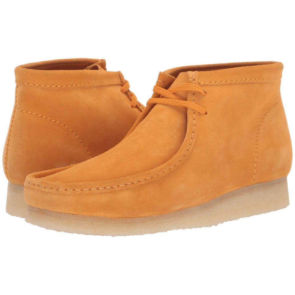クラークス Clarks メンズ ブーツ シューズ・靴【Wallabee Boot】Burnt Yellow Suede