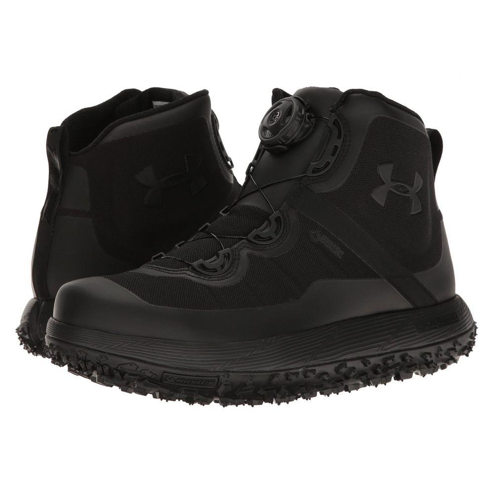 アンダーアーマー Under Armour メンズ ハイキング・登山 シューズ・靴【UA Fat Tire GTX】Black/Black