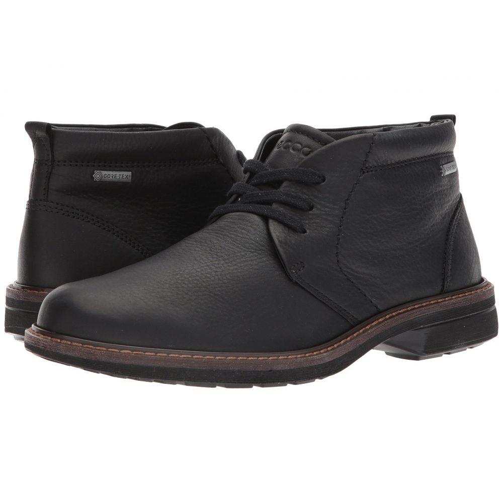 エコー ECCO メンズ ブーツ チャッカブーツ シューズ・靴【Turn Gore-Tex Chukka Tie】Black