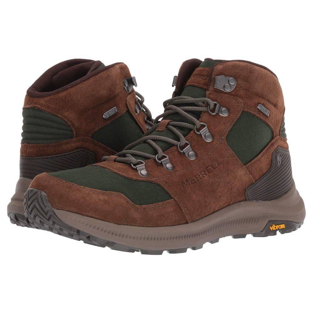 メレル Merrell メンズ ハイキング・登山 シューズ・靴【Ontario 85 Mid Waterproof】Forest