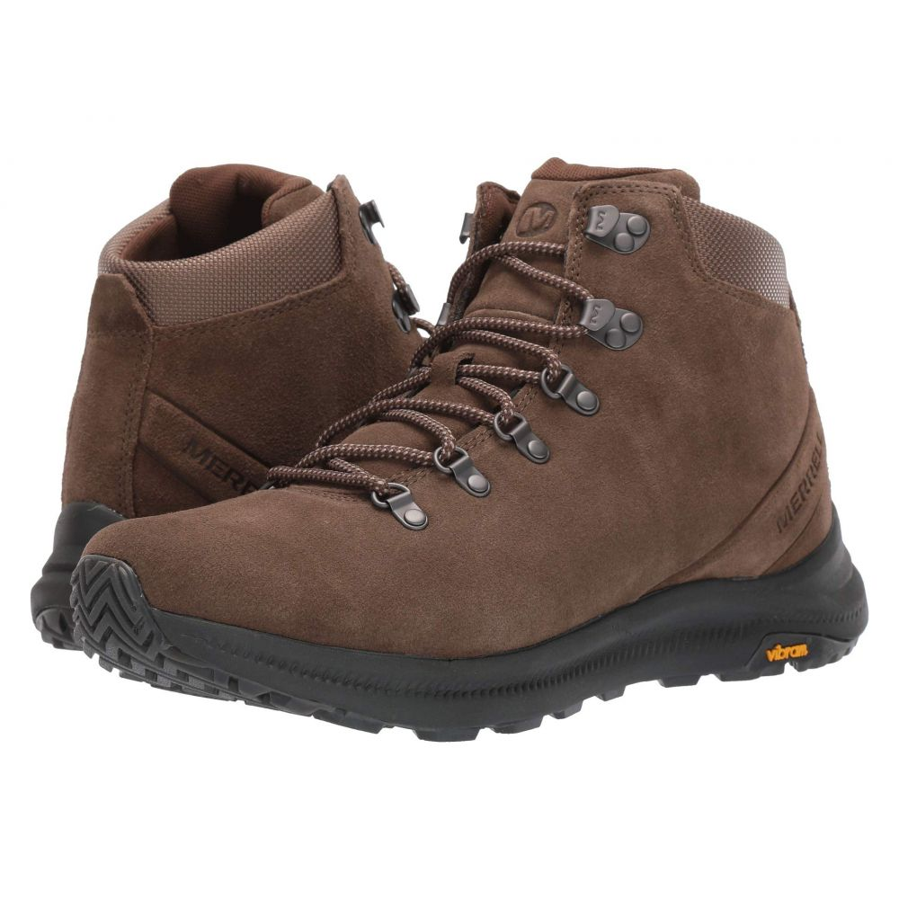 メレル Merrell メンズ ハイキング・登山 シューズ・靴【Ontario Suede Mid】Canteen