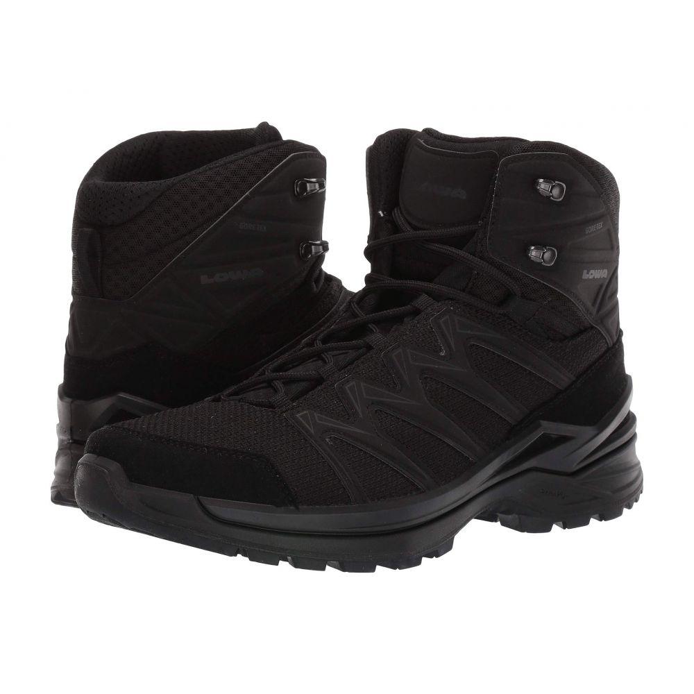 ロワ Lowa メンズ ハイキング・登山 シューズ・靴【Innox Pro GTX Mid TF】Black