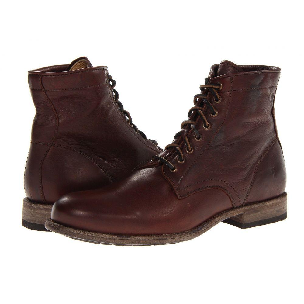 フライ Frye メンズ ブーツ レースアップ シューズ・靴【Tyler Lace Up】Dark Brown Soft Vintage Leather