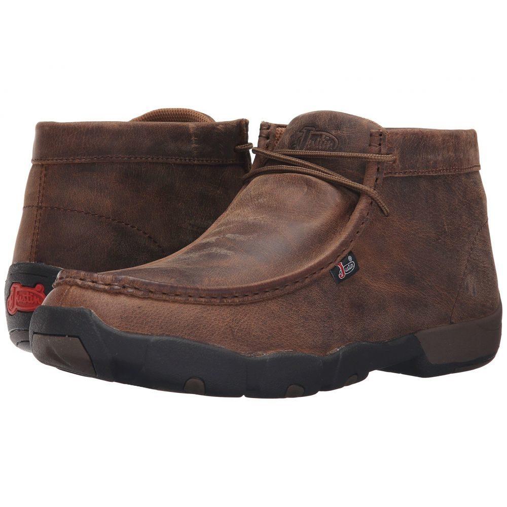 ジャスティン Justin メンズ ブーツ シューズ・靴【Cappie】Waxy Dark Brown