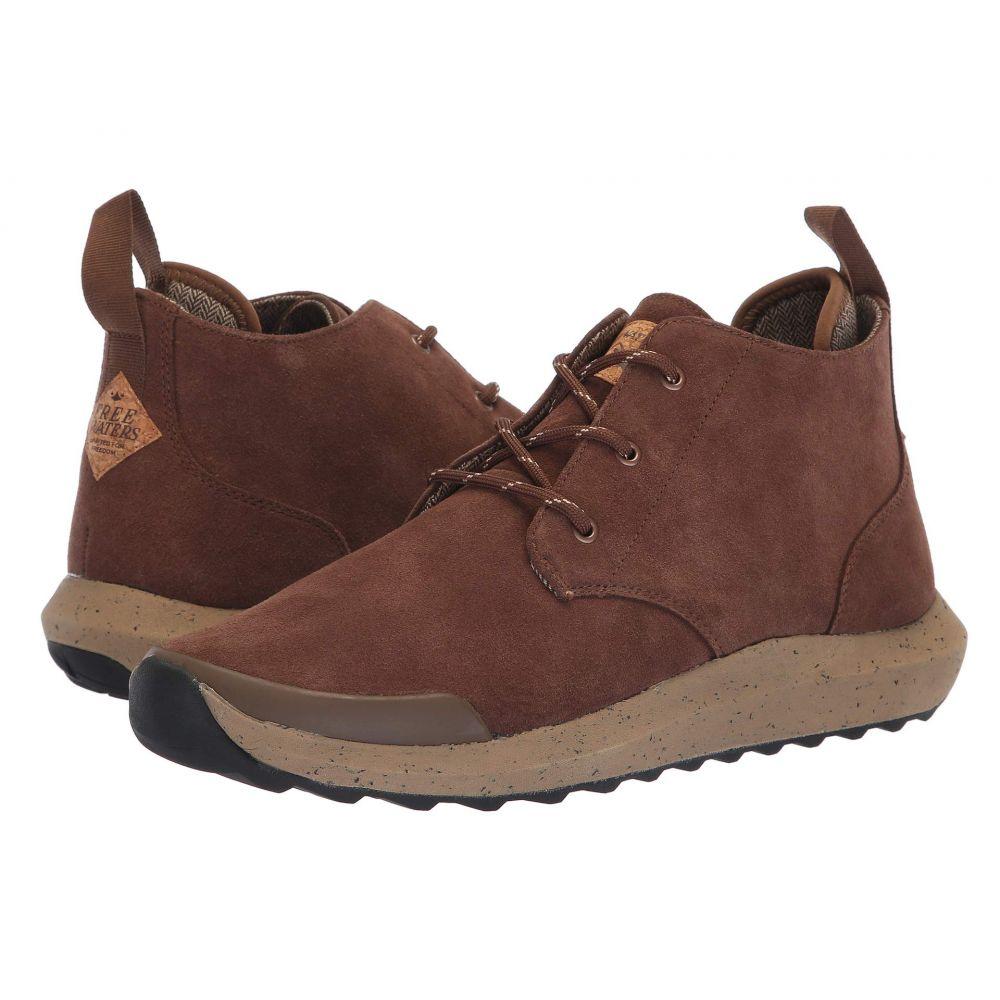 フリーウォータース Freewaters メンズ ブーツ シューズ・靴【Freeland Boot】Brown