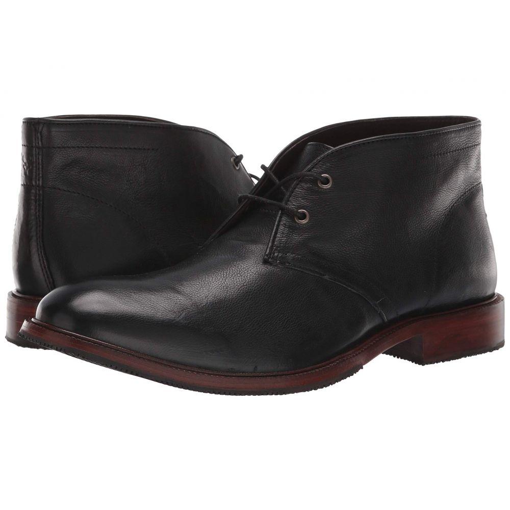 トラスク Trask メンズ ブーツ シューズ・靴【Landers】Black Italian Calfskin
