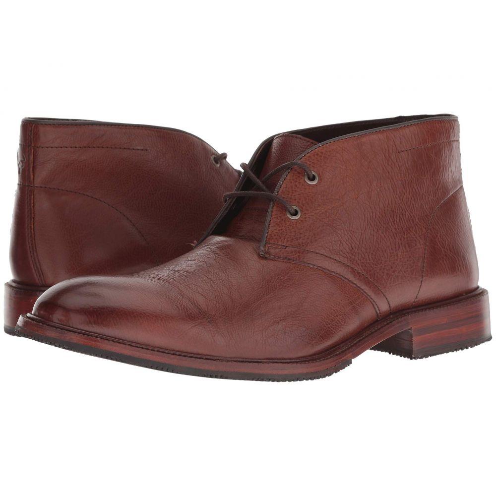 トラスク Trask メンズ ブーツ シューズ・靴【Landers】Brown Italian Calfskin