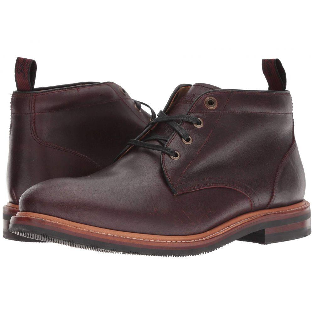 フローシャイム Florsheim メンズ ブーツ チャッカブーツ シューズ・靴【Foundry Plain Toe Chukka Boot】Burgundy CF Stead