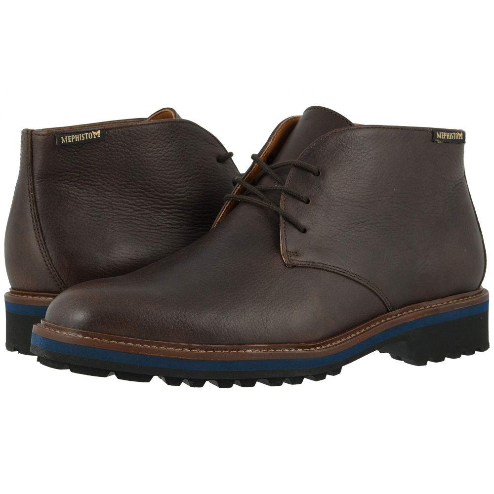 メフィスト Mephisto メンズ ブーツ シューズ・靴【Berto】Dark Brown Nevada