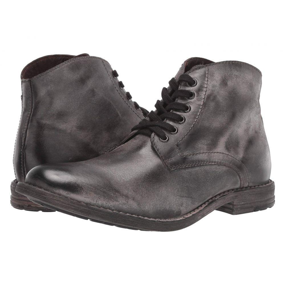 ロエン Roan メンズ ブーツ シューズ・靴 Proff Dark Grey Nappa Rust BFSCtsQrdh