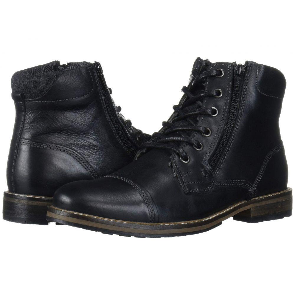 スティーブ マデン Steve Madden メンズ ブーツ シューズ・靴【Bayun Boot】Black Leather