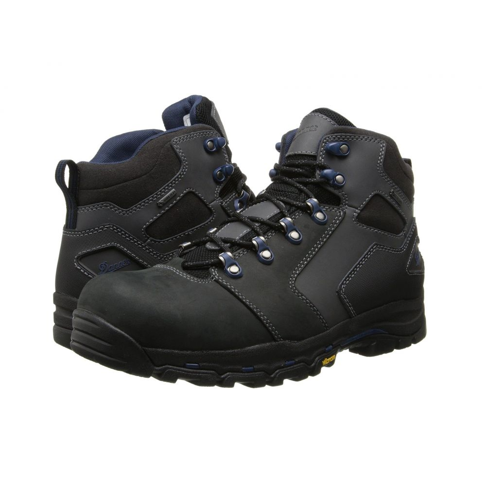 ダナー Danner メンズ ブーツ シューズ・靴【Vicious 4.5' Non-Metallic Safety Toe】Black/Blue