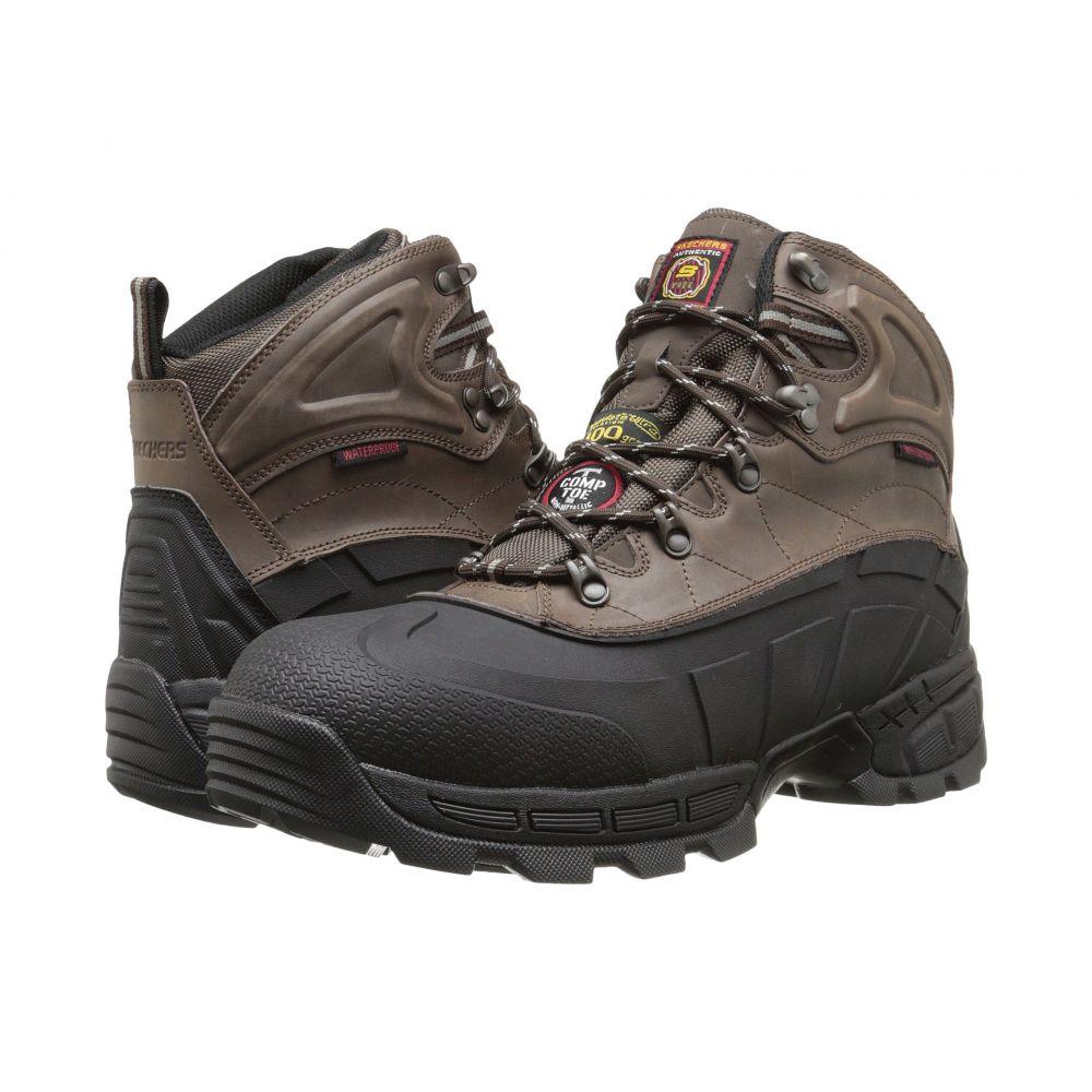 スケッチャーズ SKECHERS Work メンズ ブーツ シューズ・靴【Radford】Black/Brown