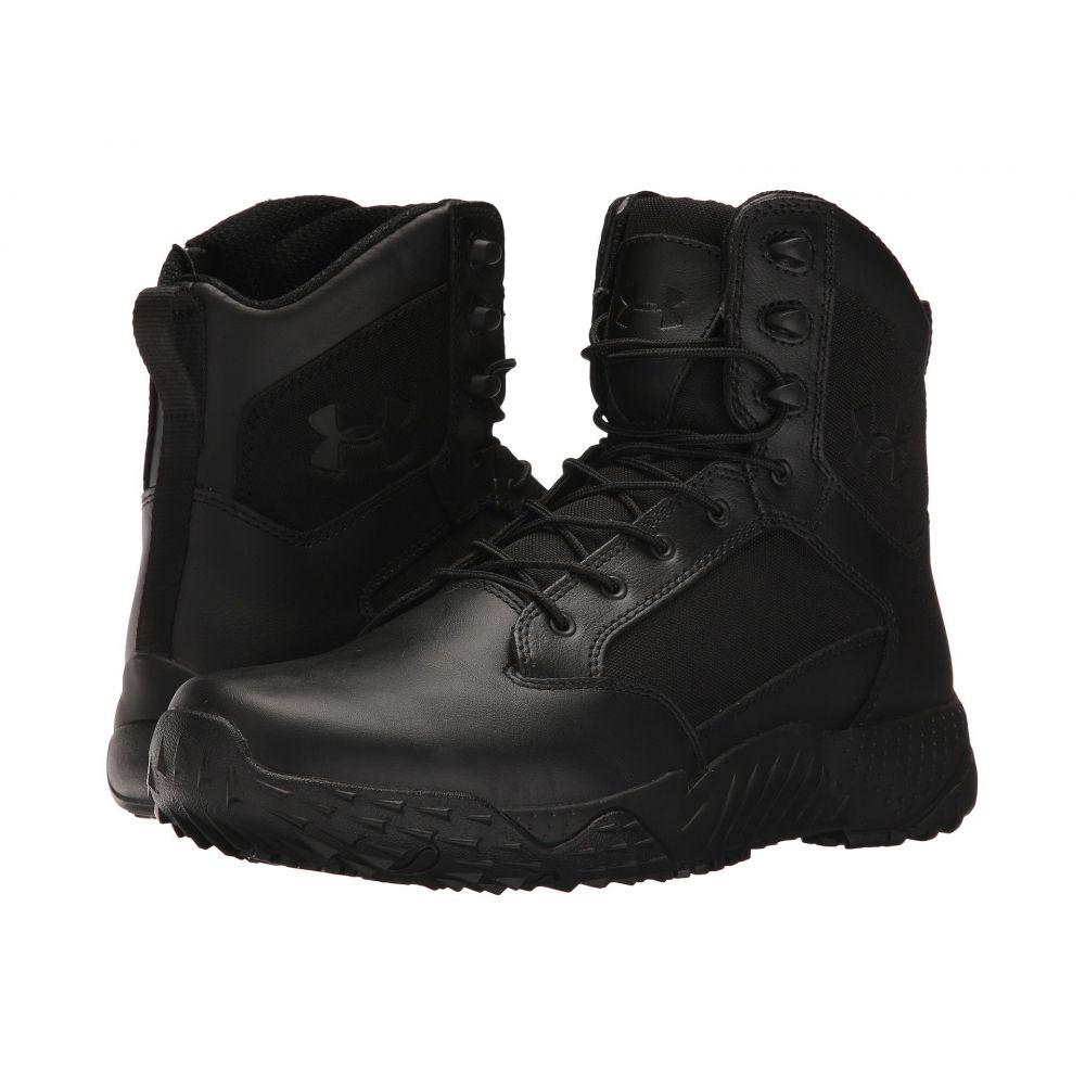 アンダーアーマー Under Armour メンズ ブーツ シューズ・靴【UA Stellar Tac Side Zip】Black/Black/Black
