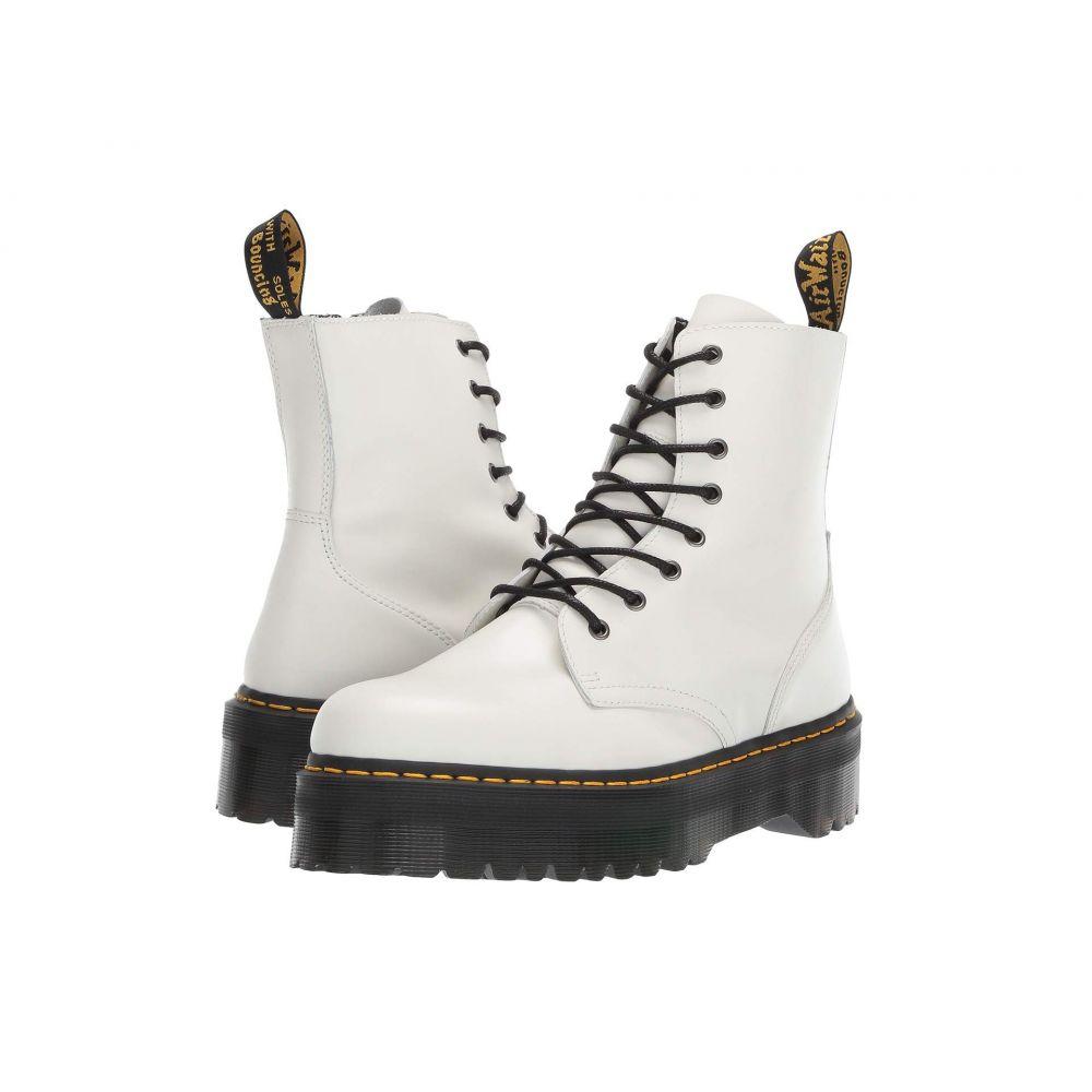 ドクターマーチン Dr. Martens メンズ ブーツ シューズ・靴【Jadon Quad Retro】White Polished Smooth