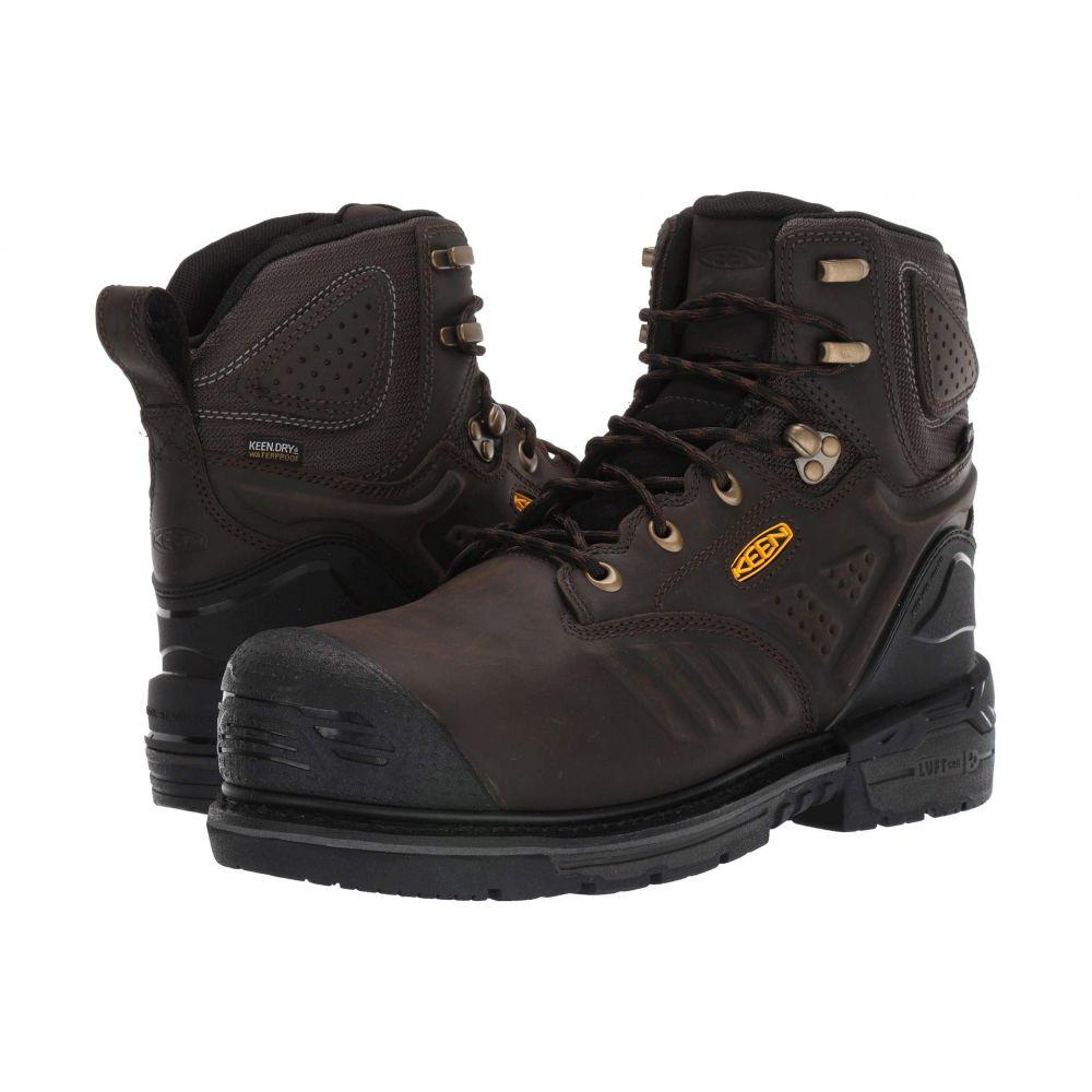 キーン Keen Utility メンズ ブーツ シューズ・靴【Philadelphia 6' 400G WP Carbon-Fiber Toe】Cascade Brown/Black