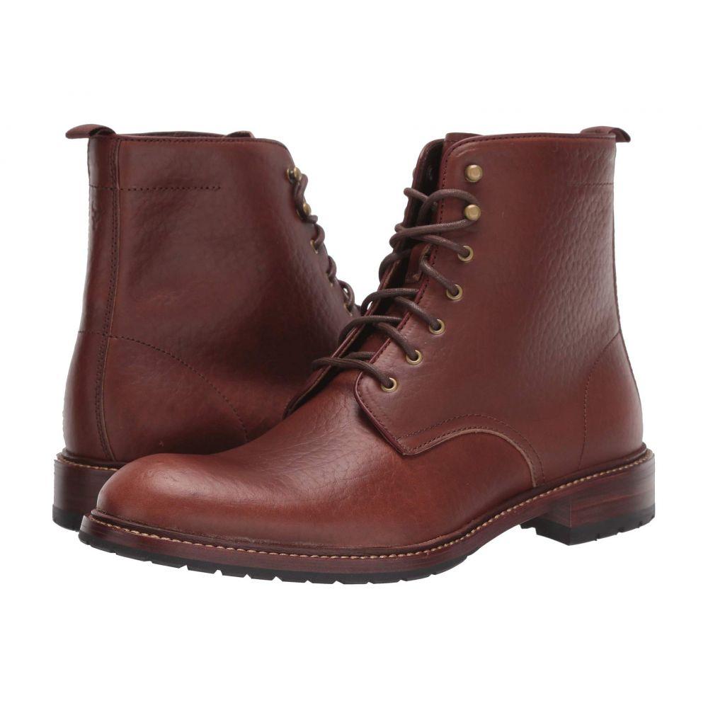 【最安値挑戦!】 トラスク Trask メンズ ブーツ シューズ・靴【Lance】Saddle Tan American Bison, コジマ 8609928f