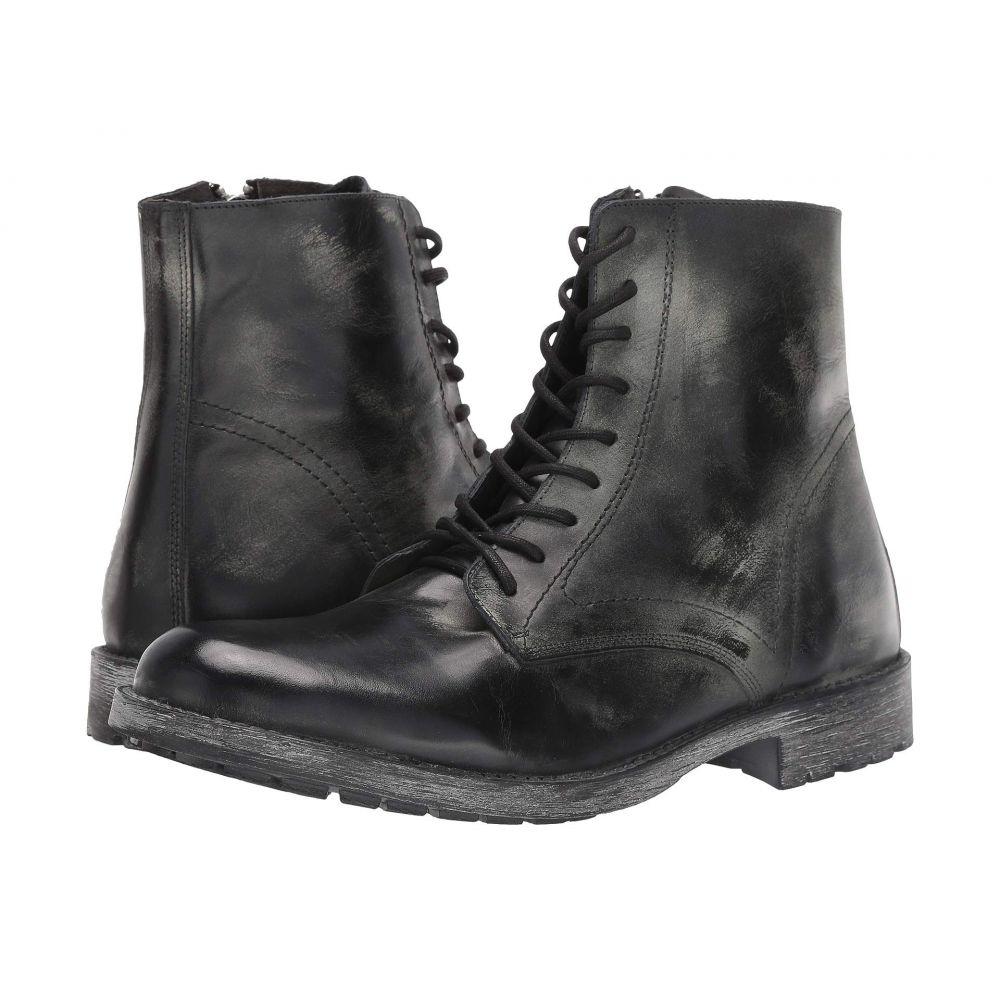 スティーブ マデン Steve Madden メンズ ブーツ シューズ・靴【Transit Boot】Black Leather