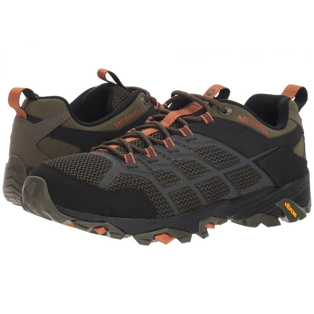 メレル Merrell メンズ ハイキング・登山 シューズ・靴【Moab FST 2】Olive/Adobe