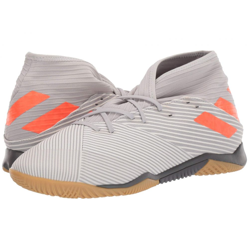 アディダス adidas メンズ サッカー シューズ・靴【Nemeziz 19.3 IN】Grey Two F/Solar Orange/Chalk White