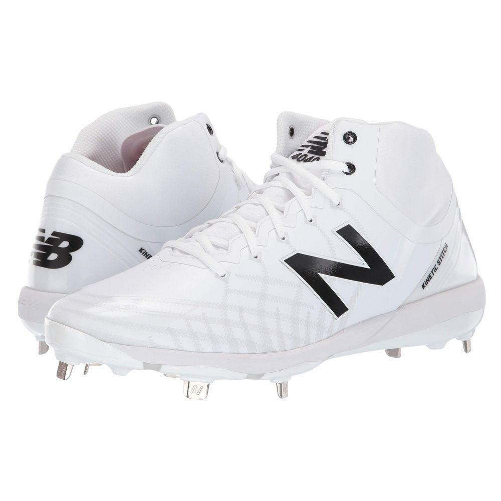 ニューバランス New Balance メンズ サッカー シューズ・靴【4040v5 Mid-Cut Metal】White/White
