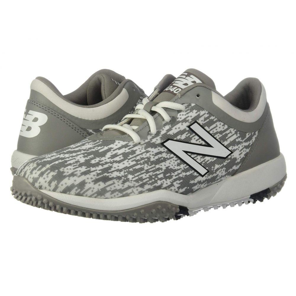 ニューバランス New Balance メンズ サッカー シューズ・靴【4040v5 Turf】Grey/White