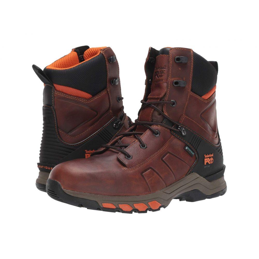ティンバーランド Timberland PRO メンズ ブーツ シューズ・靴【8' Hypercharge Soft Toe Waterproof】Brown Teak Trailblazer