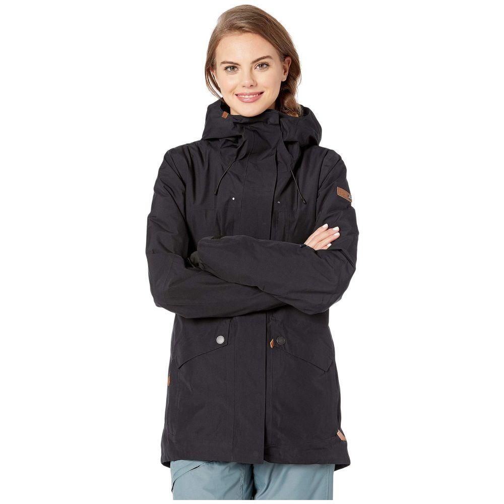 ロキシー Roxy レディース スキー・スノーボード ジャケット アウター【GORE-TEX 2L Glade Snow Jacket】True Black