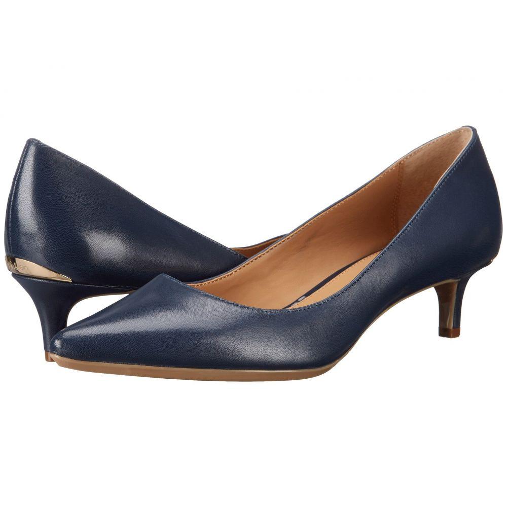 カルバンクライン Calvin Klein レディース パンプス シューズ・靴【Gabrianna Pump】Navy Leather