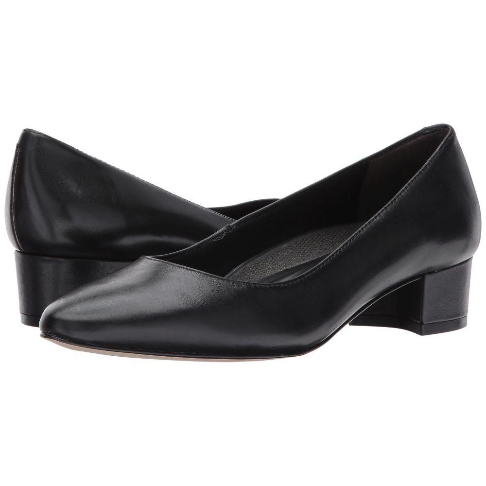ウォーキング クレードル Walking Cradles レディース ヒール シューズ・靴【Heidi】Black Leather