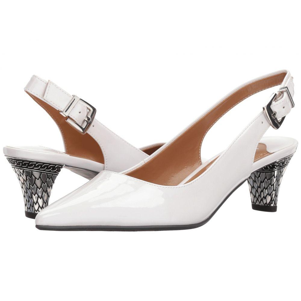 ジェイレニー J. Renee レディース ヒール シューズ・靴【Mayetta】White Pearl