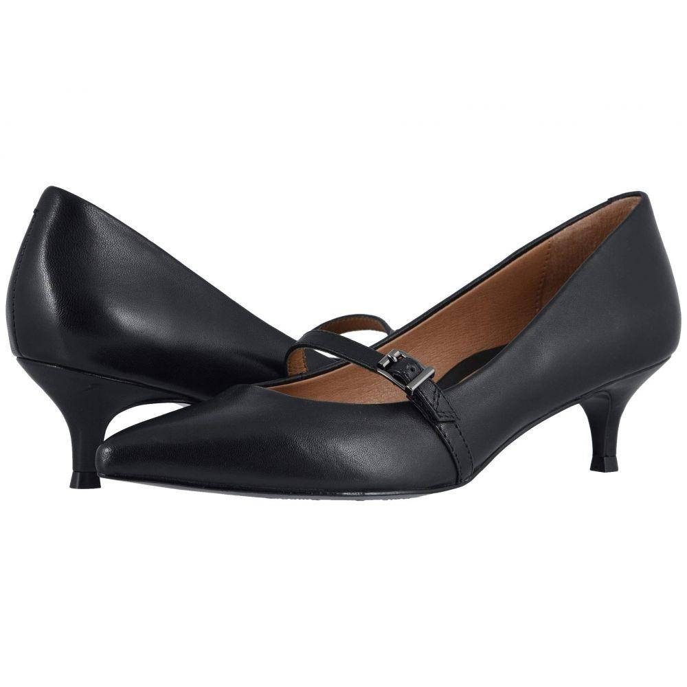バイオニック VIONIC レディース ヒール シューズ・靴【Minnie Leather】Black