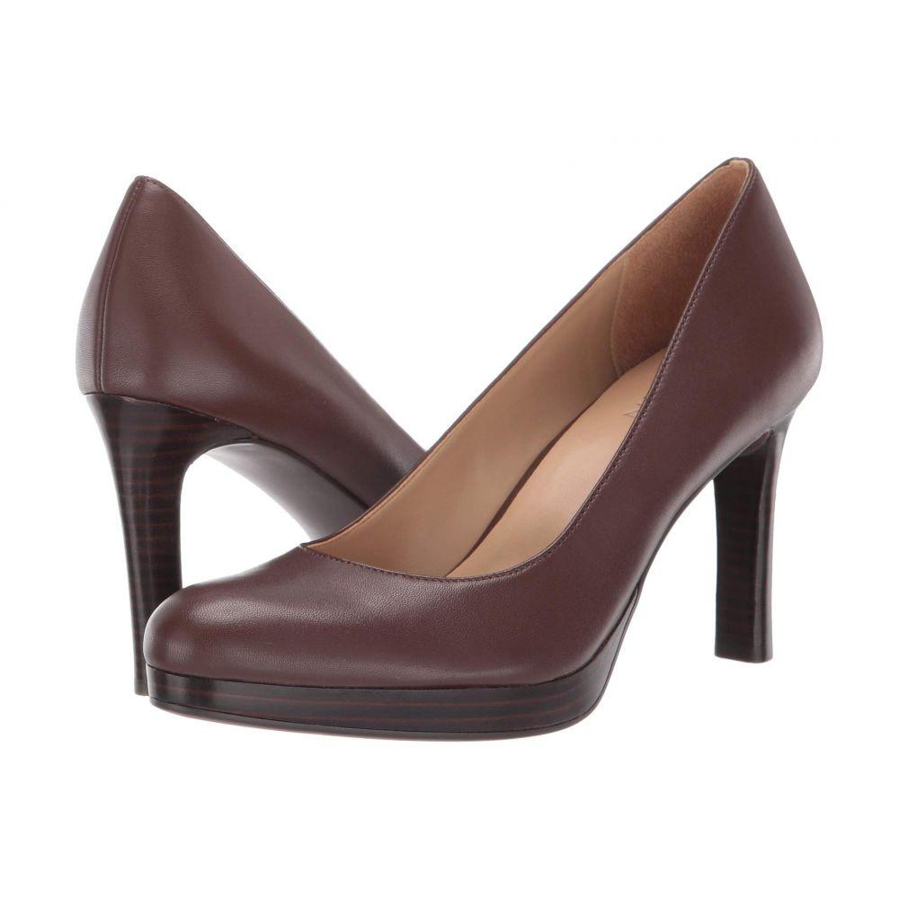 ナチュラライザー Naturalizer レディース ヒール シューズ・靴【Teresa】Bridle Brown Leather