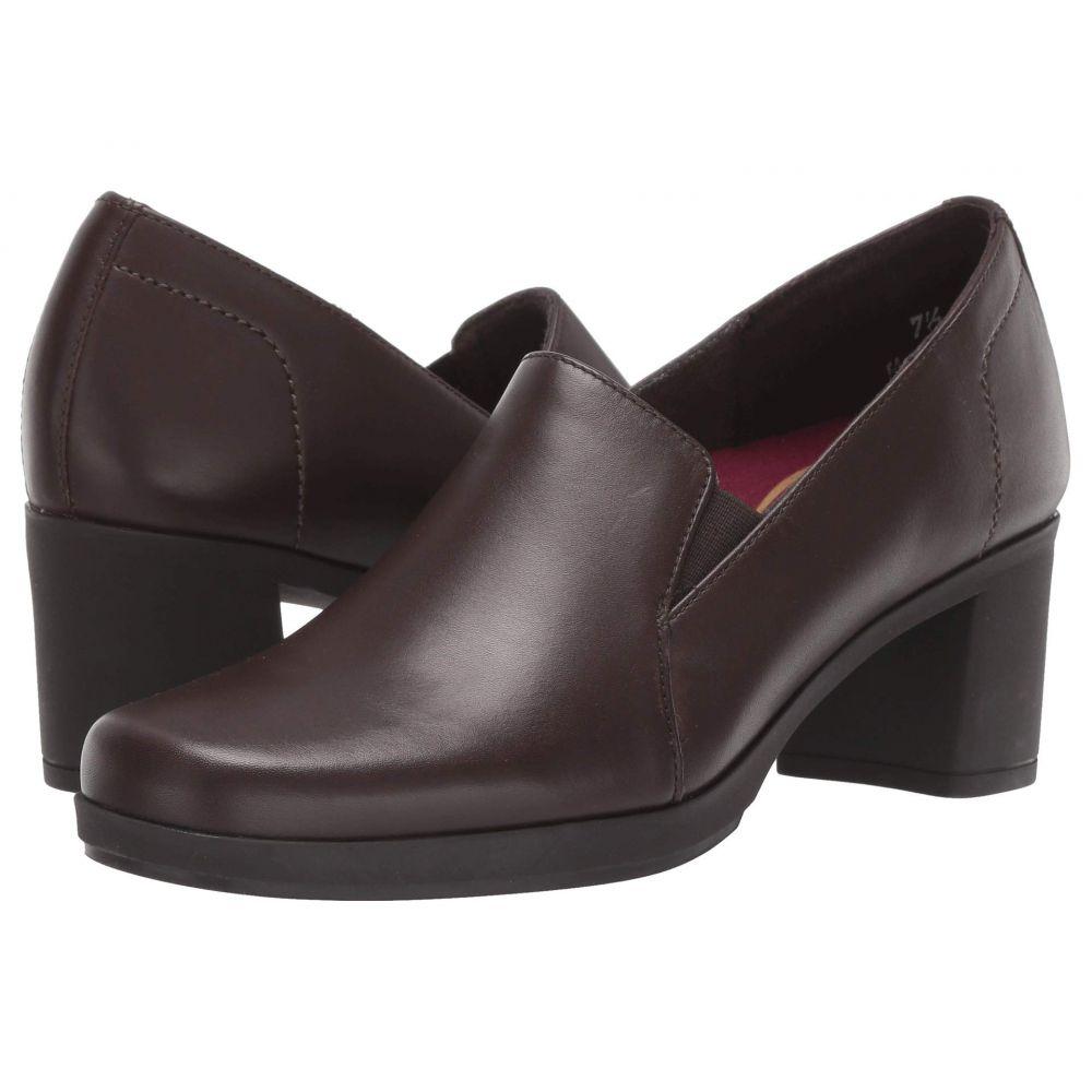 マンロー Munro レディース ヒール シューズ・靴【Jemma】Brown Leather