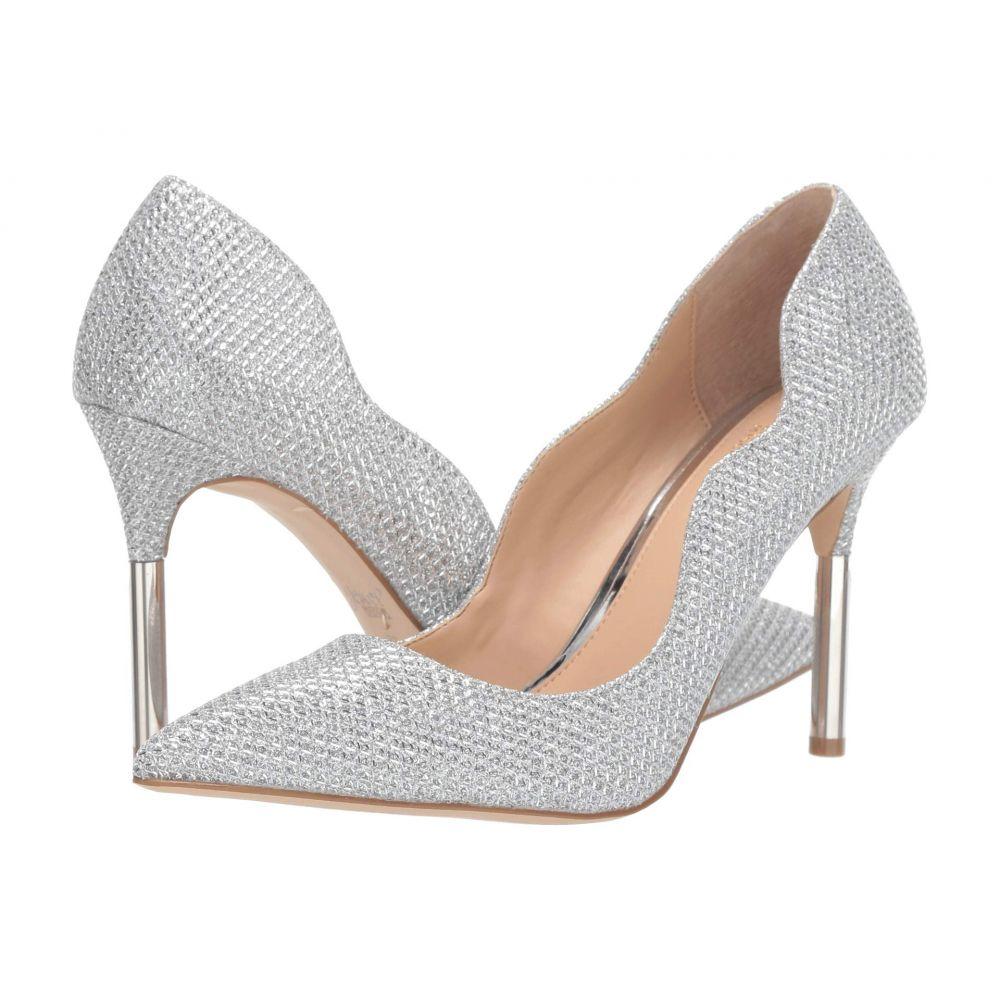 バッジェリー ミシュカ Jewel Badgley Mischka レディース ヒール シューズ・靴【Riley】Silver