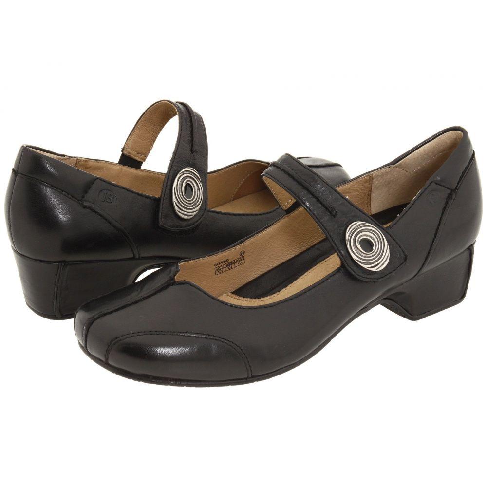 ジョセフセイベル Josef Seibel レディース ヒール シューズ・靴【Cara】Savonna Black Leather