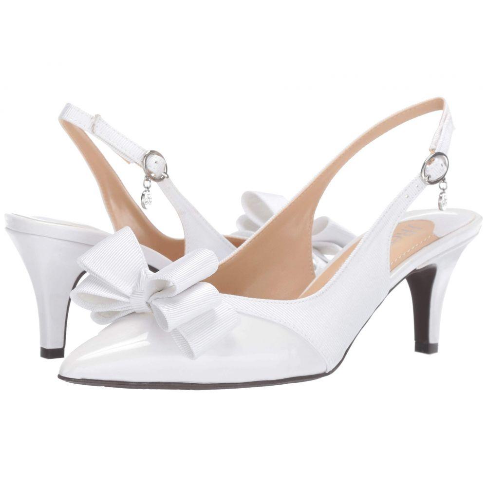 ジェイレニー J. Renee レディース ヒール シューズ・靴【Gabino】White/White
