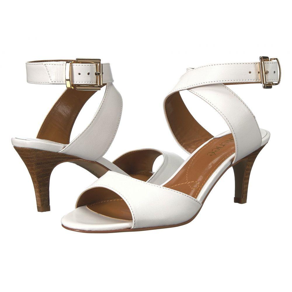 ジェイレニー J. Renee レディース ヒール シューズ・靴【Soncino】White Leather