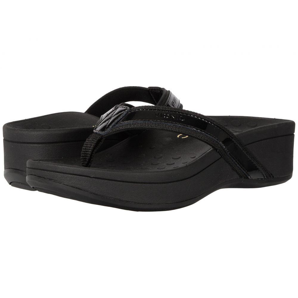 バイオニック VIONIC レディース ヒール シューズ・靴【High Tide】Black Patent Leather